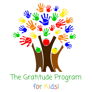 The Gratitude Program for Kids! Official Logo