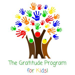 The Gratitude Program for Kids! Official Logo